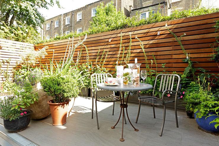 Open-Plan Kitchen/Living Room, Ladbroke Walk, London Cue & Co of London Modern garden