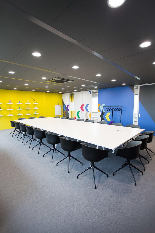 Vergaderruimte ontwerpplek, interieurarchitectuur Moderne kantoorgebouwen