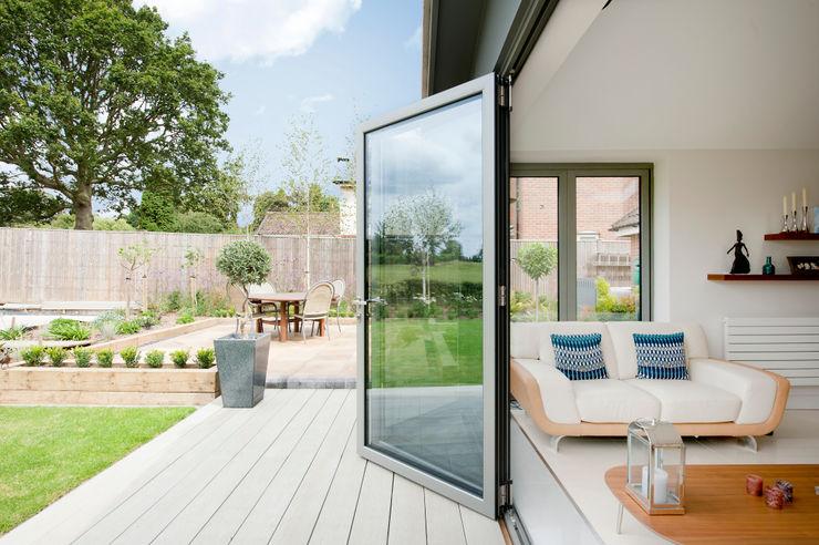 Modern Kitchen / Lounge Extension homify Anexos de estilo moderno