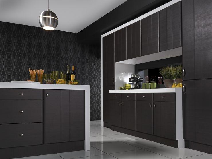 Grove Dark Oak Melinga Kitchen Dream Doors Ltd 廚房儲櫃