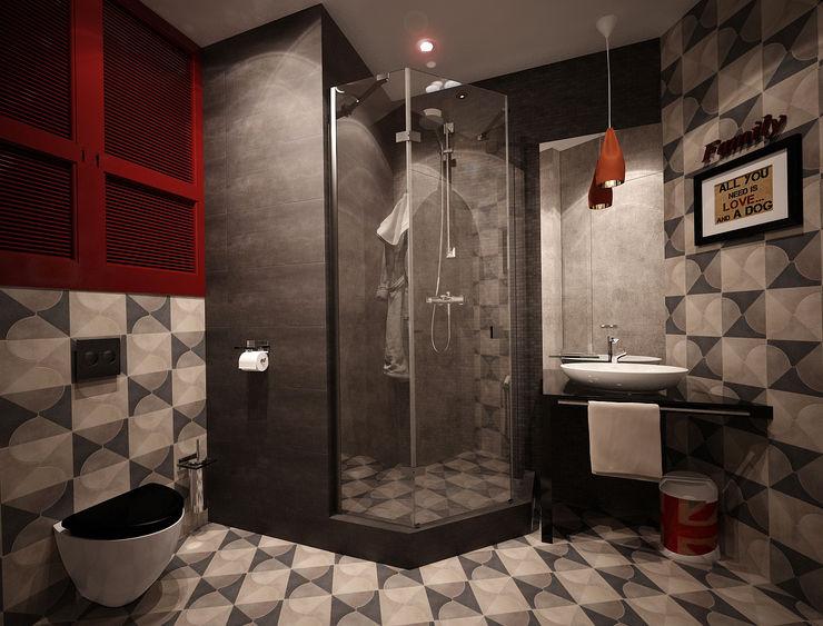 Reroom Industrial style bathroom