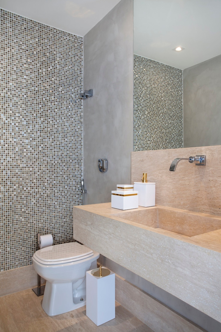 ANGELA MEZA ARQUITETURA & INTERIORES BathroomFittings