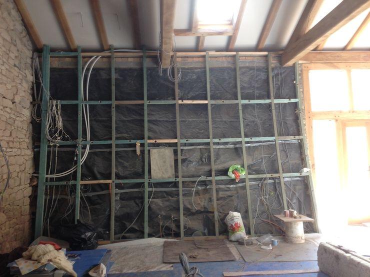 Before: Range Cooker wall Hallwood Furniture
