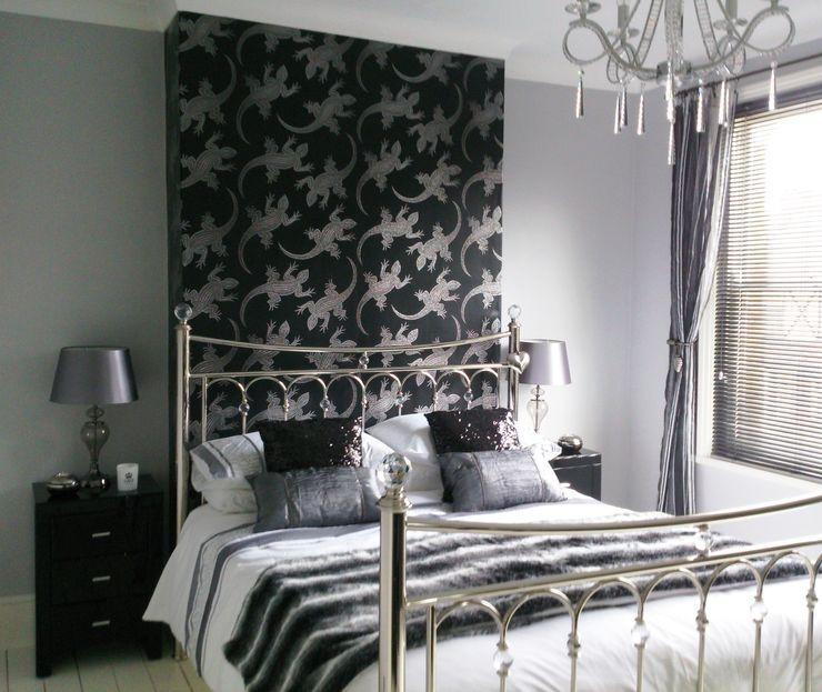 Bedroom Kerry Holden Interiors Eclectic style bedroom