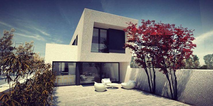 Acero Modular S.L Дома в стиле модерн