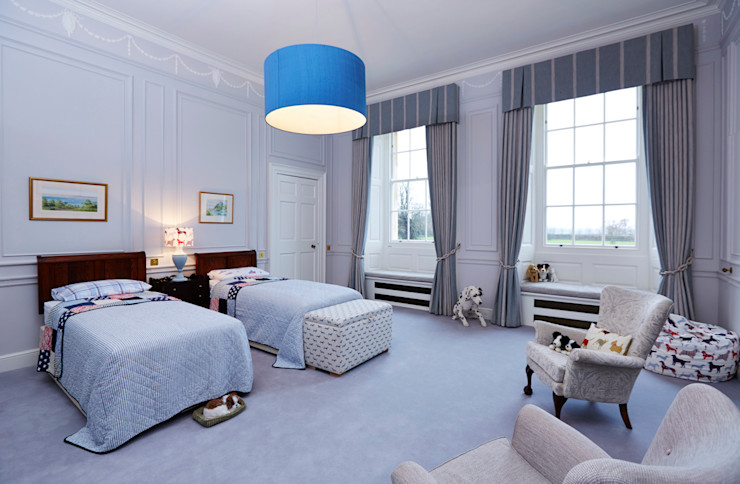 Georgian Country House Etons of Bath Classic style bedroom