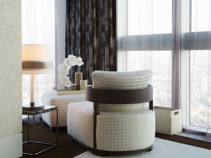 Penthouse apartment, Vauxhall Keir Townsend Ltd. Modern style bedroom