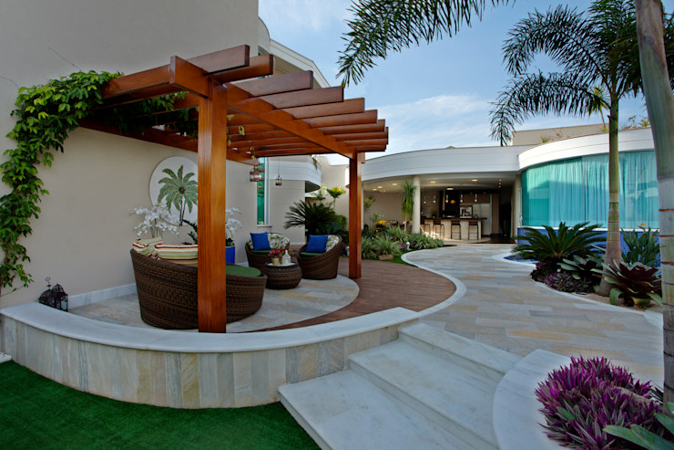 Designer de Interiores e Paisagista Iara Kílaris 現代房屋設計點子、靈感 & 圖片