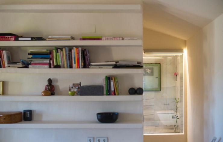 DMP arquitectura Гостиная в стиле модерн