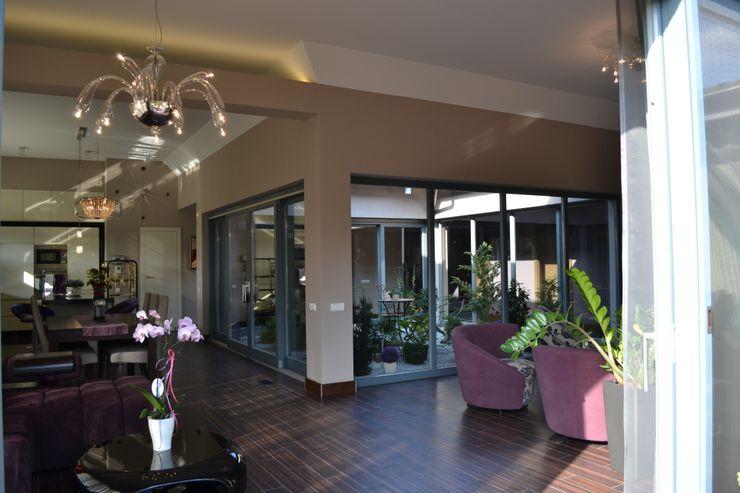 Autorskie Studio Projektu QUBATURA Salones de estilo moderno