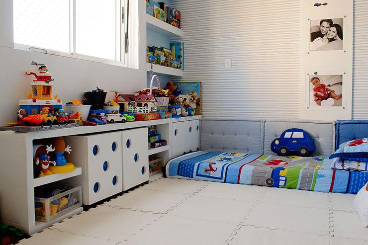 Quarto menino AWDS Arquitetura e Design de Interiores Quarto infantil moderno