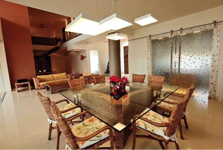 AMEC ARQUITECTURA Dining roomLighting