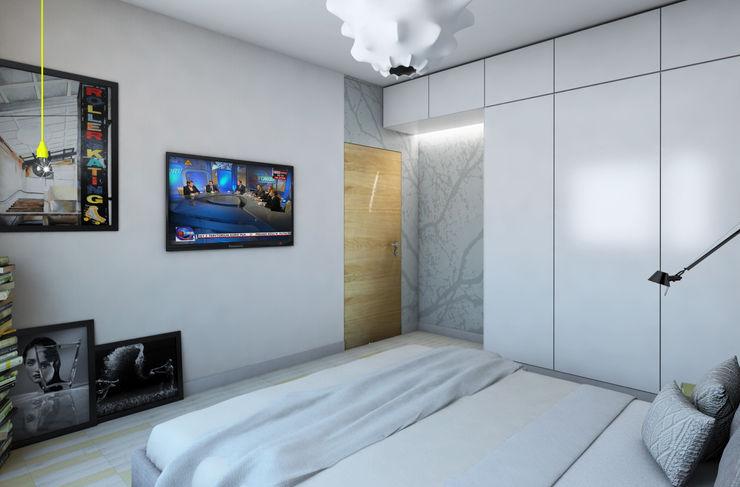 Pracownia Projektowa Pe2 Scandinavian style bedroom