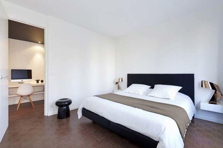 Un appartement qui respire - La suite parentale a-sh Chambre minimaliste
