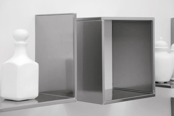 Sistema attacco mensole magnetiche Ronda Design CasaContenitori