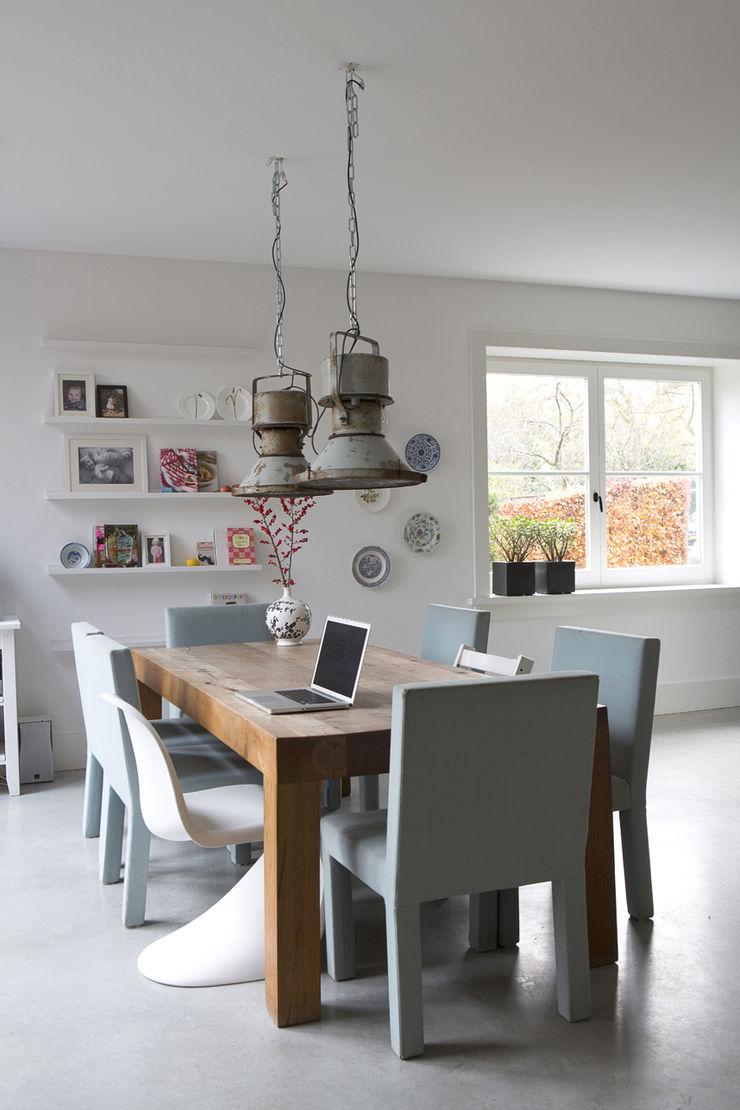eettafel Boks architectuur Moderne keukens