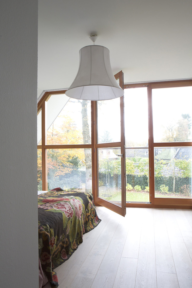 master bedroom Boks architectuur Moderne slaapkamers