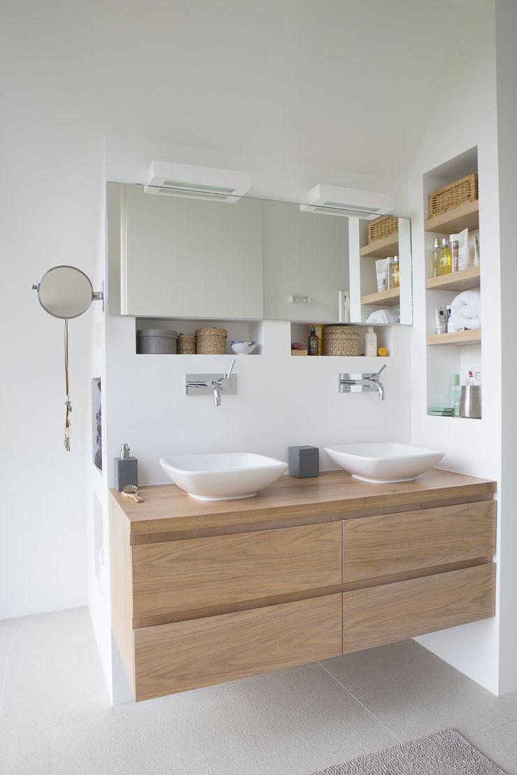 wastafelmeubel Boks architectuur Moderne badkamers