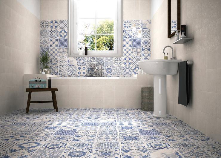 Gama Ceramica y Baño 現代浴室設計點子、靈感&圖片
