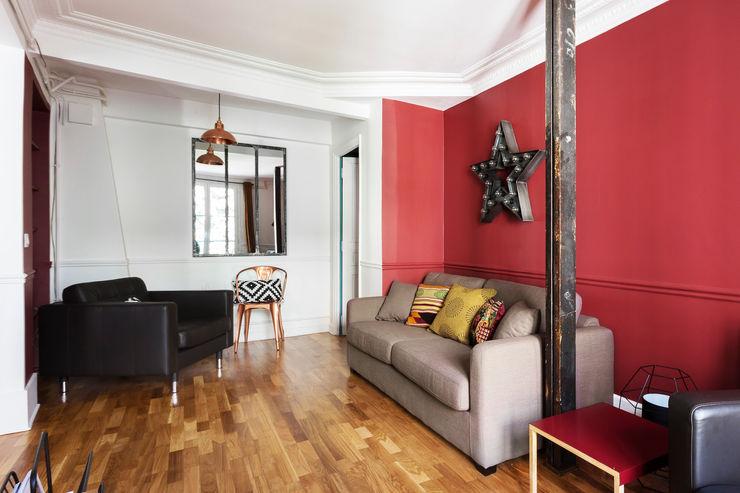 Espaces à Rêver Industrial style living room