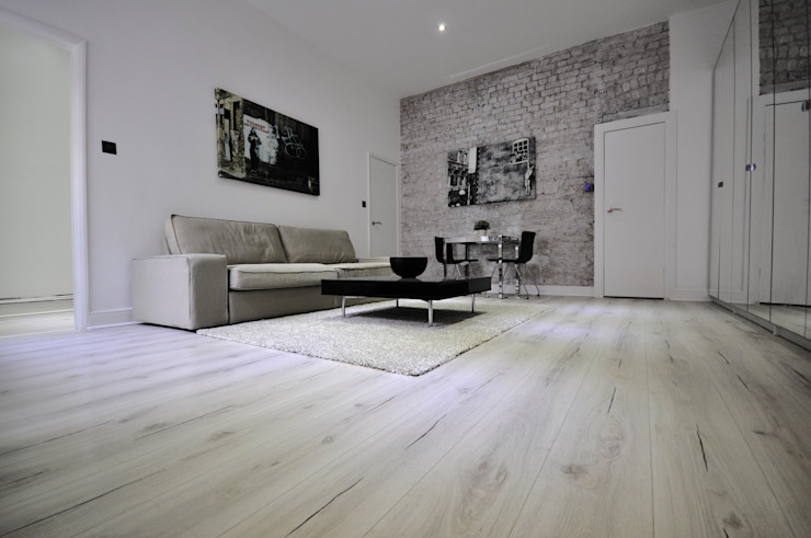 Apartments in Nothing Hill, London Pergo Modern living room