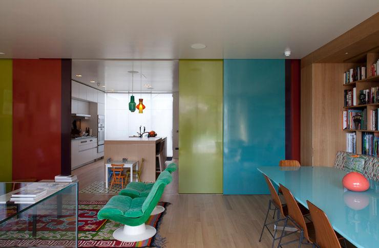 West London house Viewport Studio Sliding doors
