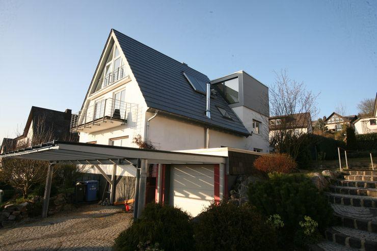 Moderne Wohnhauserweiterung in Hessen PlanWerk Nowoczyn Architekten Moderne Häuser