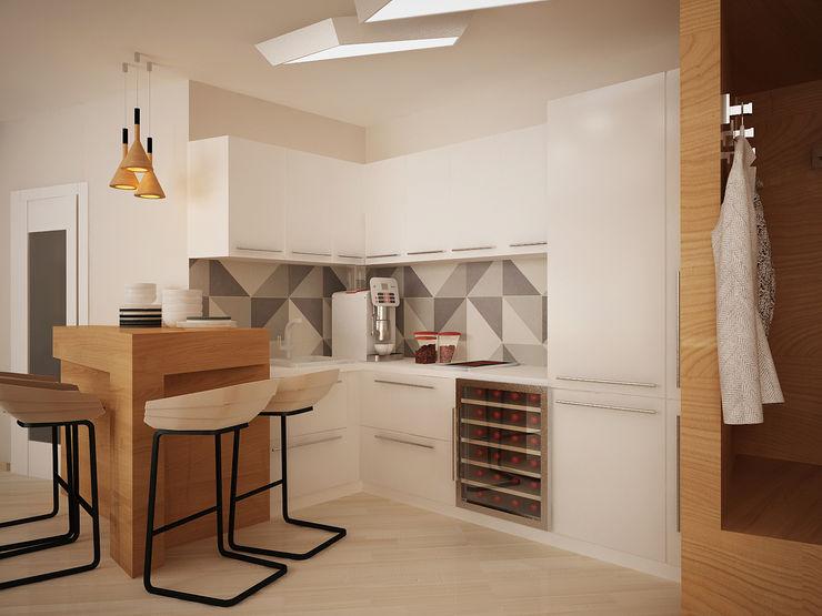 Vera Rybchenko Modern Kitchen