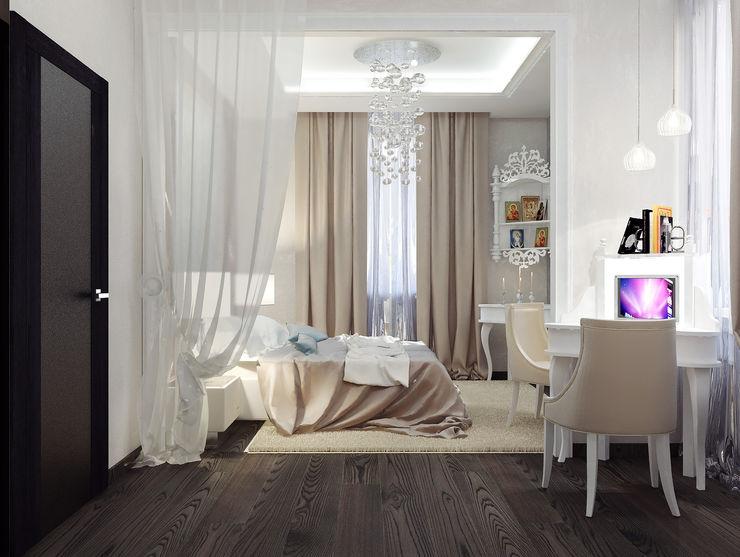 Vera Rybchenko Classic style bedroom