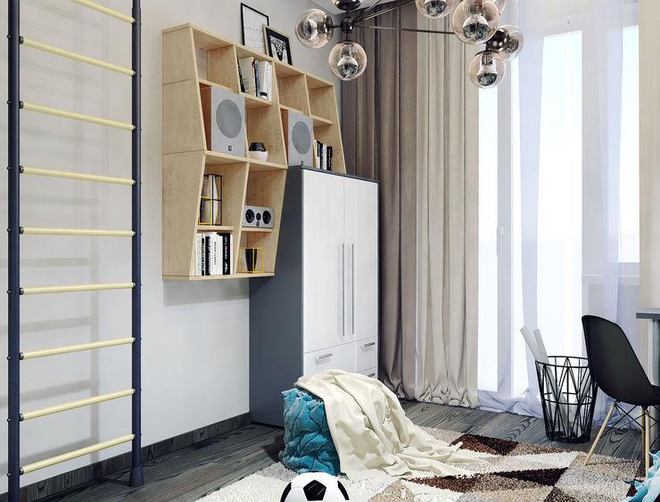 Vera Rybchenko Nursery/kid's room