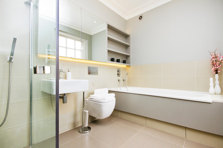 Clean finishes : Bathroom In:Style Direct Minimalist style bathroom