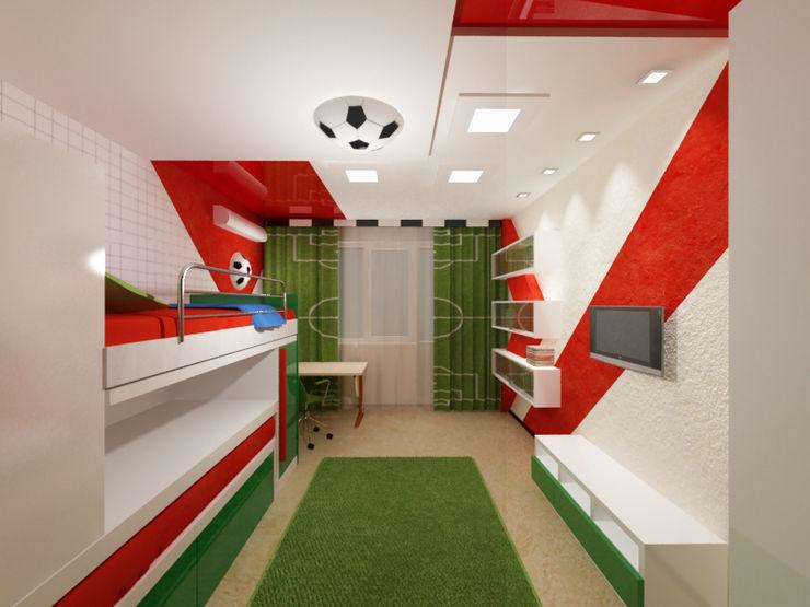 Vera Rybchenko Modern Kid's Room