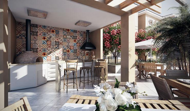 Lodo Barana Arquitetura e Interiores Balcones y terrazas modernos