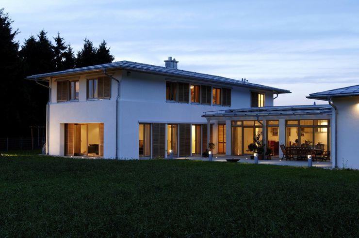 Abendstimmung Architekt Namberger Einfamilienhaus