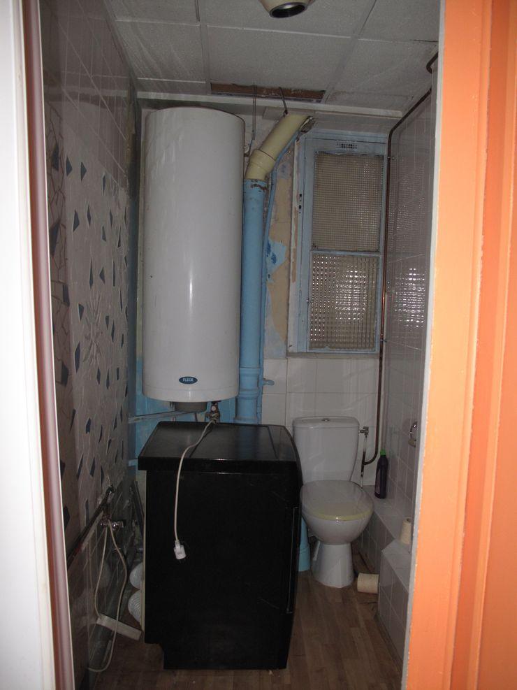 photo de toilette avant projet Studio Pan Salle de bain originale
