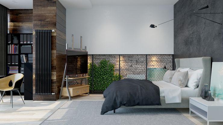 Pavel Alekseev Industriële slaapkamers