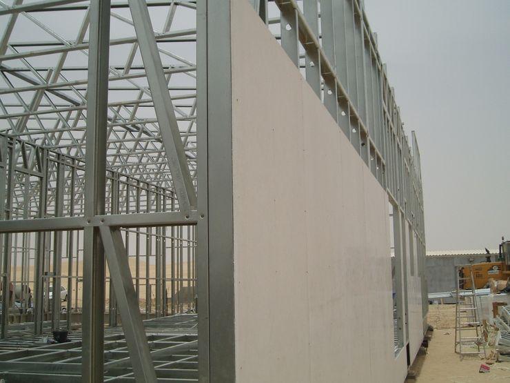 Revestimento Exterior Placas Magnésio - Magnésiopan A EXCLUSIVA - Sustainable Buildings Materials Parede e pisoRevestimentos de parede e pavimentos Branco