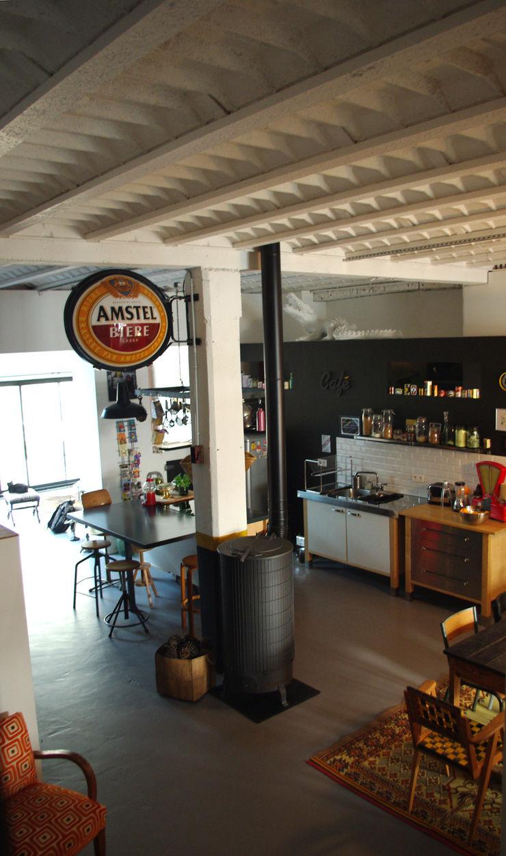 Loft Bordeaux Marie Dumora Cuisine industrielle