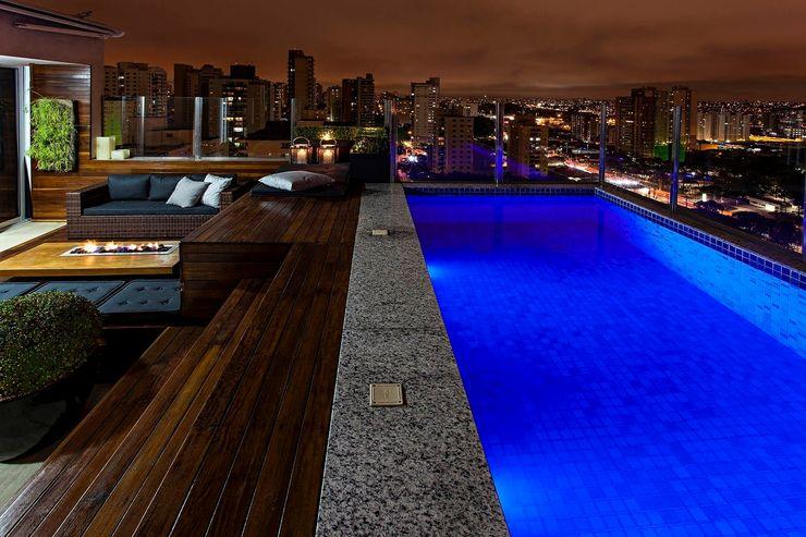 Monica Rio Verde Paisagismo Modern Pool