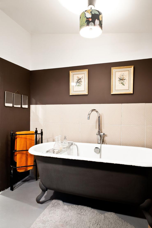 Loft Bordeaux Marie Dumora Salle de bain industrielle