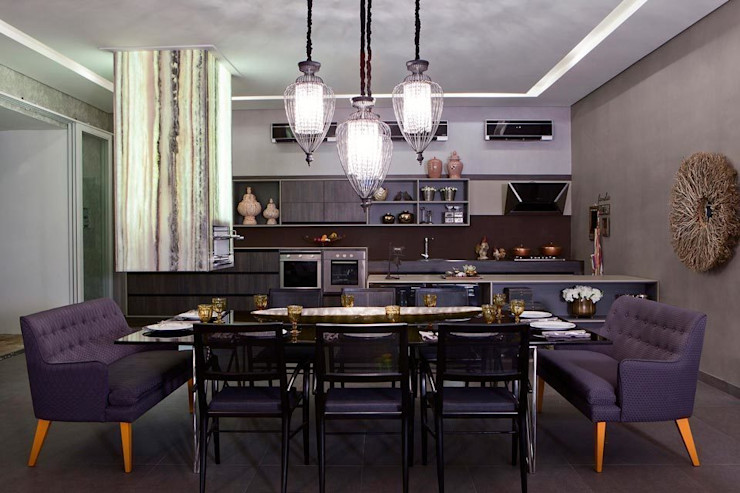 RABAIOLI I FREITAS Modern dining room