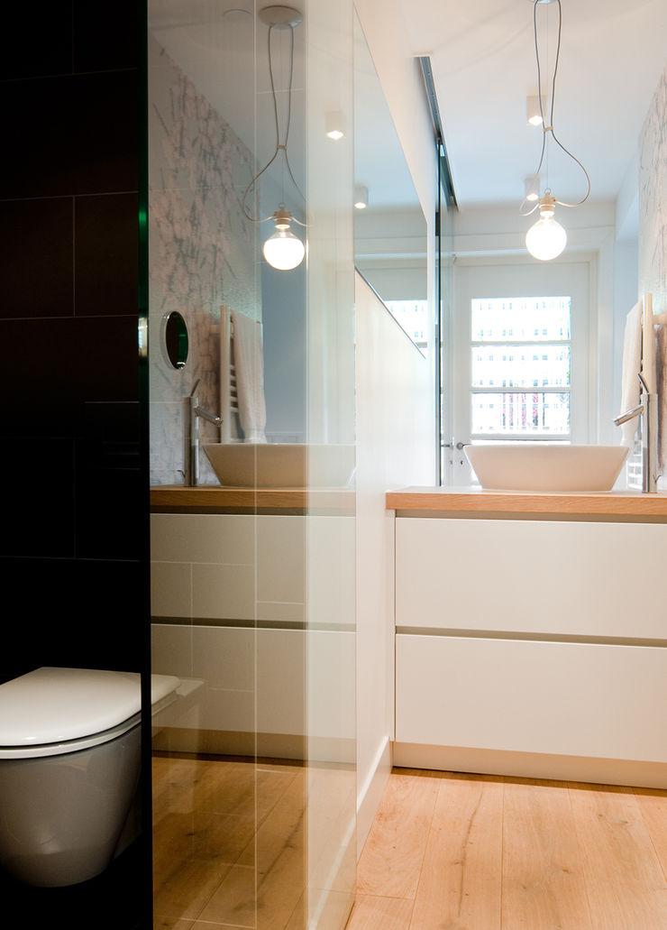 Woonhuis Utrecht ontwerpplek, interieurarchitectuur Moderne badkamers