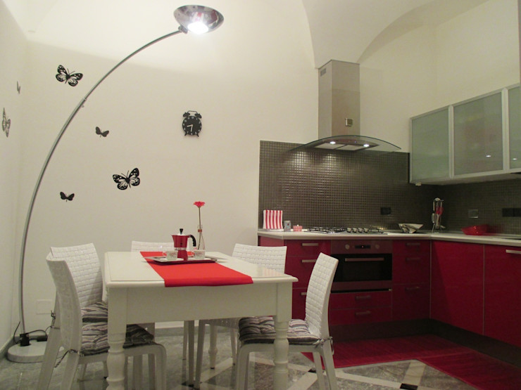Paola Boati Architetto Cocinas de estilo moderno