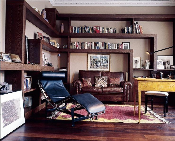 Квартира на Никитской ANIMA Рабочий кабинет в стиле модерн