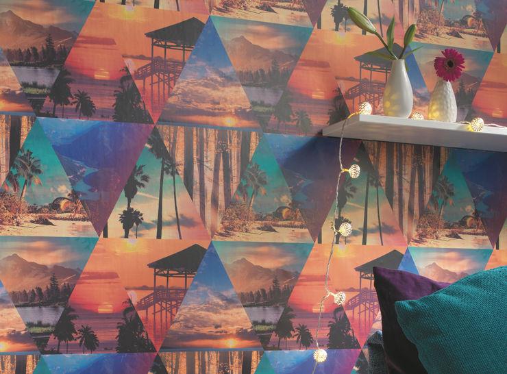 Tapeten der 70er Murs & SolsPapier peint