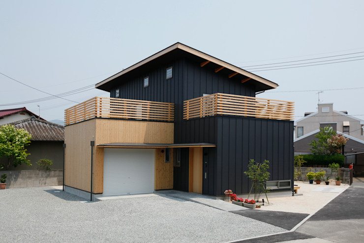 有限会社クリエデザイン/CRÉER DESIGN Ltd. Moderne Häuser