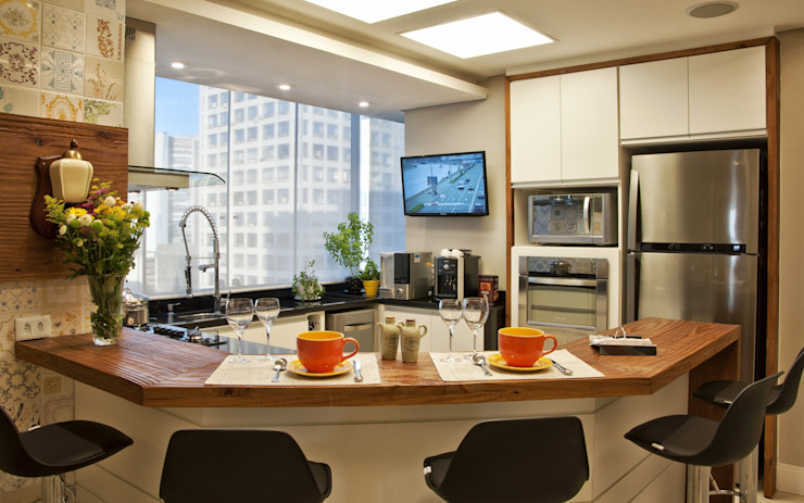 Tania Bertolucci de Souza | Arquitetos Associados Cocinas de estilo moderno