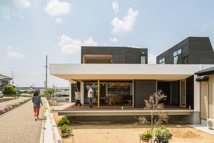 ふたつの芽 murase mitsuru atelier インダストリアルな 家
