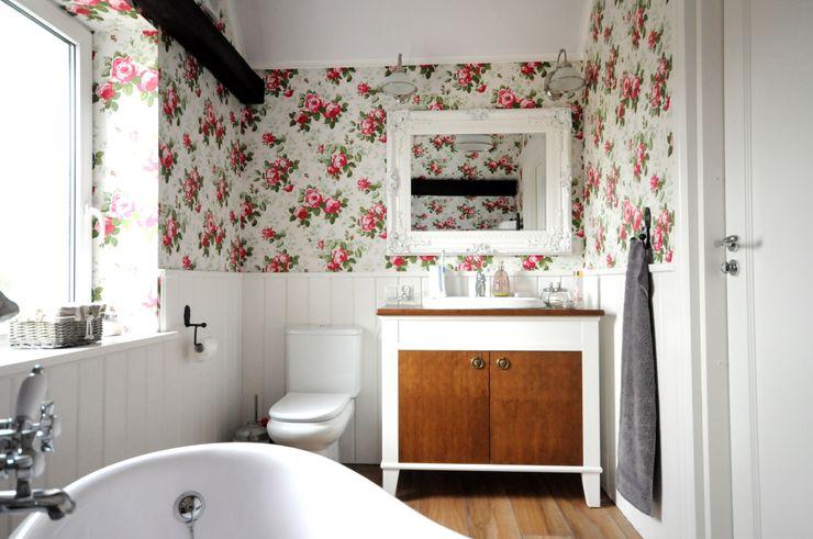 Grzegorz Popiołek Projektowanie Wnętrz Salle de bain rurale
