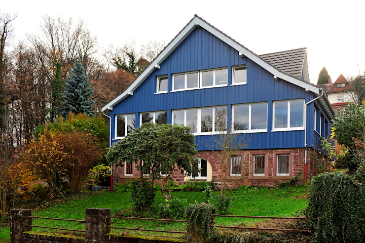 architektur + energie Country style houses
